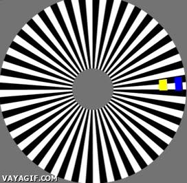 Enlace a Aunque no lo parezca los dos rectángulos se mueven de manera uniforme todo el rato