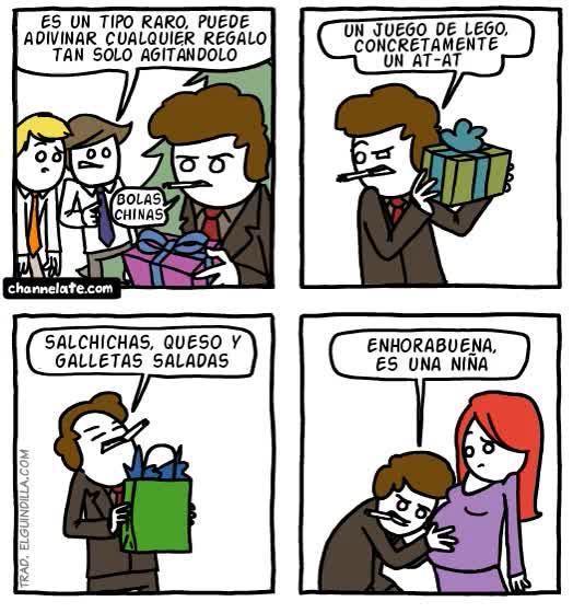 Enlace a El adivino agitador de regalos