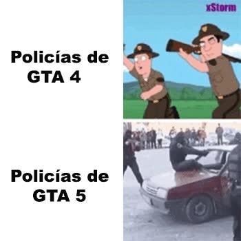 Enlace a Diferencias entre policías del GTA según la versión
