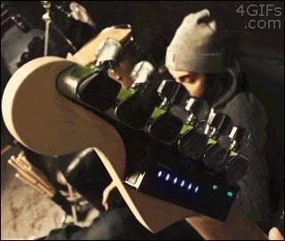 Enlace a Afinador de guitarras automático