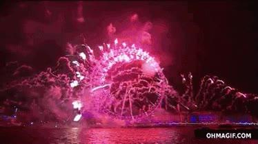 Enlace a Así recibieron el año nuevo en Londres