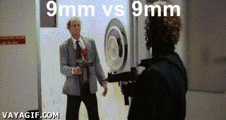 Enlace a Pues no parece que sean balas demasiado potentes