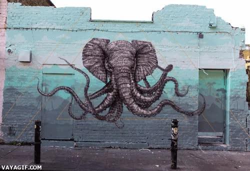 Enlace a Graffiti en movimiento