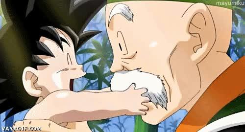 Enlace a Goku también fue un bebé