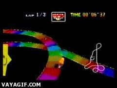 Enlace a El mítico atajo de la Rainbow Road del Mario Kart 64 acaba de ser mejorado