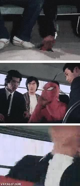 Enlace a ¡Hola amigos japoneses, Spiderman ya está aquí!