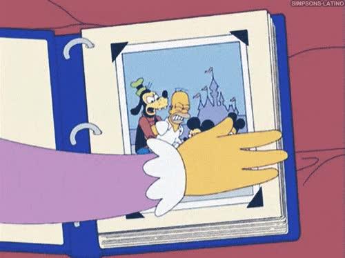 Enlace a Los Simpson han pasado buenos momentos juntos