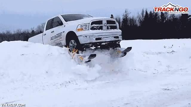 Enlace a ¿Cadenas para la nieve? ¡Eso es para pringaos!