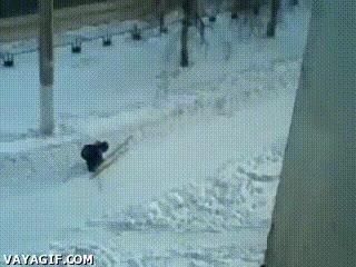 Enlace a Para el esquí de fondo hay que tener una paciencia que está claro que este tío no tiene