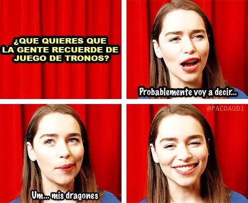 Enlace a Khaleesi lo tiene claro