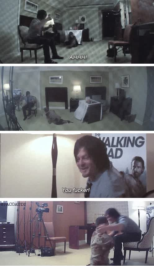 Enlace a Trolleando a Norman Reedus (Daryl Dixon en The Walking Dead)