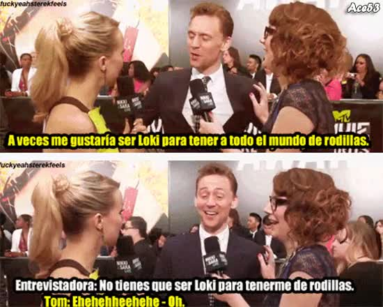 Enlace a Tom Hiddleston y su poder de seducción