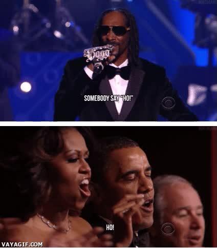 Enlace a Este Obama, es todo un marchoso...