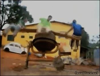 Enlace a ¿Para qué podríamos usar una hormigonera? ¡Tengo una idea!