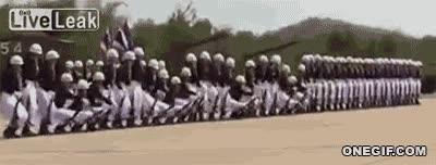 Enlace a La sincronización del ejército tailandeés