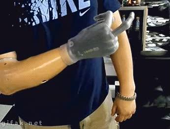Enlace a Bueno, si las prótesis robóticas ya permiten hacer esto, vamos por buen camino