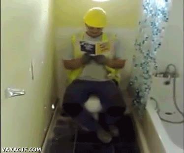 Enlace a Lo que te gustaría hacer cuando alguien se encierra en el lavabo demasiado tiempo