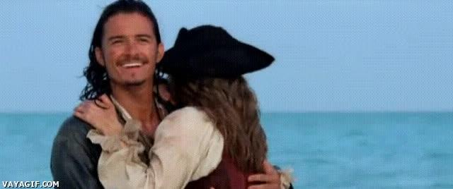 Enlace a ¿Cómo te puede entrar la risa tonta besando a una pirata así?