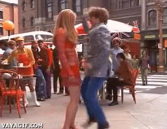 Enlace a Cuando una chica me dice que baile un poco con ella