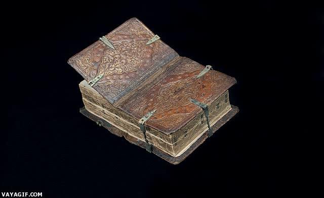 Enlace a Libros antiguos que podías abrir de 6 formas diferentes