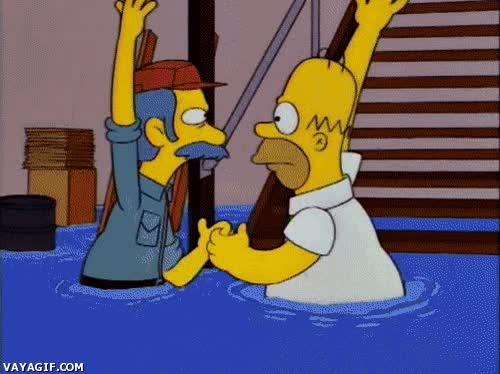 Enlace a El saludo secreto de los Canteros de Springfield