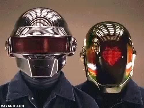 Enlace a Los Daft Punk lo tienen todo preparado para el día de los enamorados