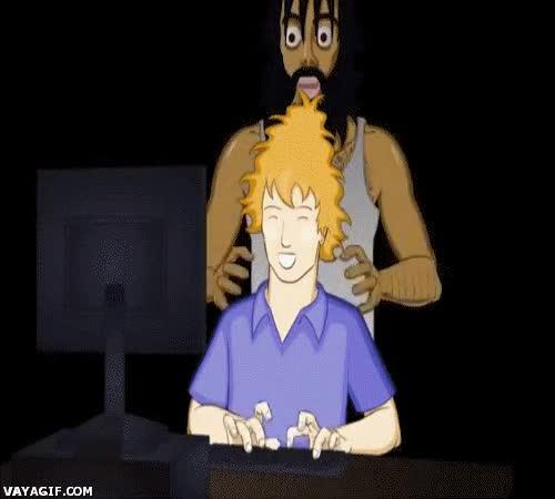 Enlace a Cuando tu hermano pequeño está en tu ordenador sin permiso