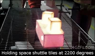 Enlace a Escudo térmico de una nave espacial que soporta increíbles temperaturas