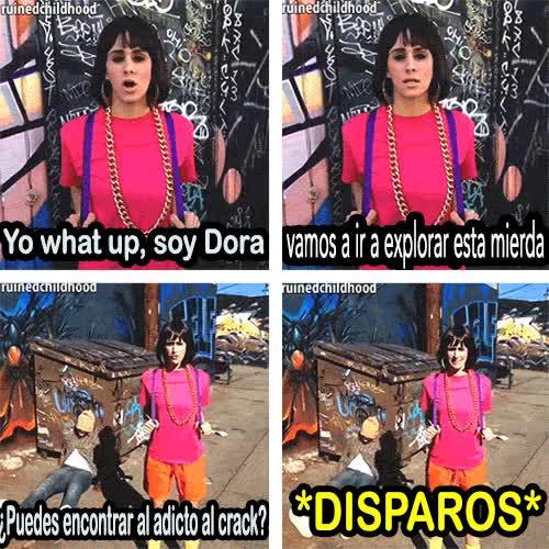Enlace a Dora la exploradora ha crecido un poquito...