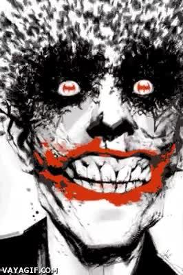 Enlace a Envías un gif normal y no pasa nada, envías un gif del Joker y él mismo pierde la cabeza