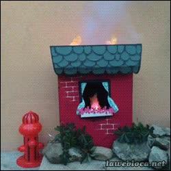 Enlace a ¡Oh no, un incendio! ¡Perro al rescate!