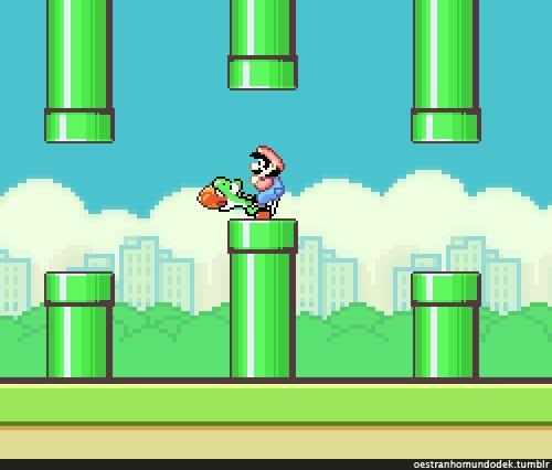 Enlace a Verdadero final de Flappy Bird