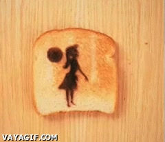 Enlace a Animaciones en pan tostado