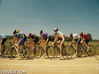 Enlace a Mr. Bean, el mejor ciclista del mundo