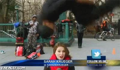 Enlace a Los riesgos de ser reportera en directo