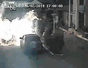 Enlace a Impresionante explosión de gas