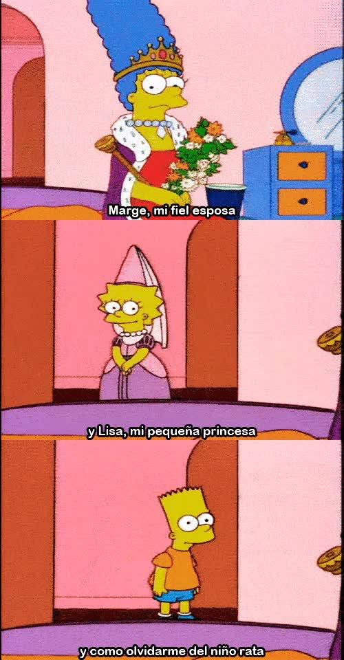 Enlace a El amor de Homer a su familia