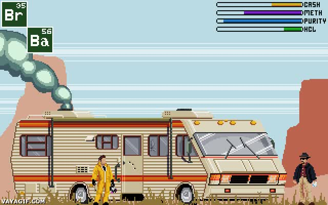 Enlace a Breaking Bad en 8 bits