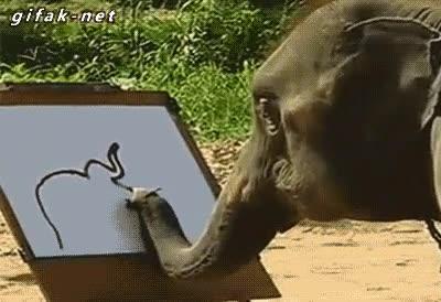 Enlace a El elefante con talento