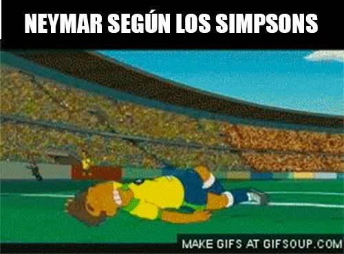Enlace a Neymar según Los Simpsons