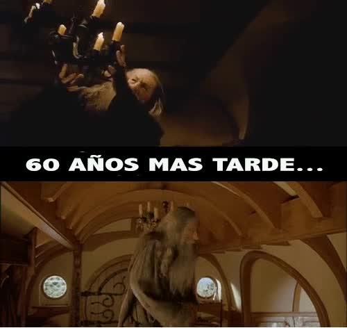 Enlace a Gandalf nunca aprenderá