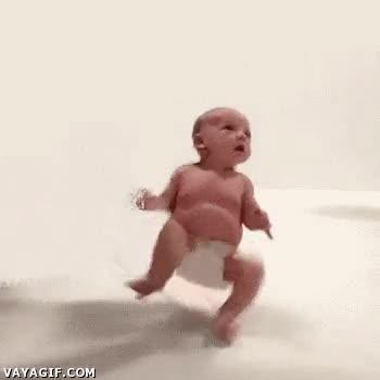 Enlace a Así se crean los efectos de bebés que caminan