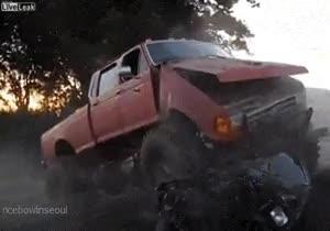 Enlace a Tener llantas de monstertruck no hace a tu coche un verdadero monstertruck
