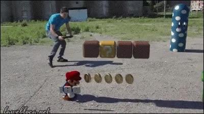 Enlace a Super Mario en realidad aumentada