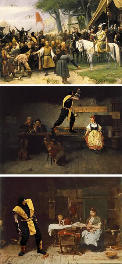 Enlace a El arte es mejor con Scorpion