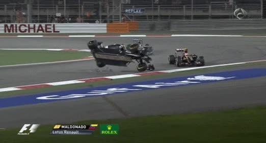 Enlace a ¿Quién decía que no se puede rodar con un Fórmula 1?