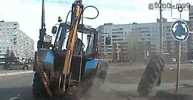 Enlace a Estar conduciendo tu excavadora tranquilamente cuando de pronto...