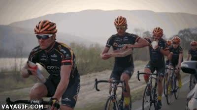 Enlace a El avituallamiento de los ciclistas ya no es lo que era