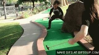 Enlace a Los metaleros no sirven para el mini-golf