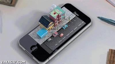 Enlace a Así podría ser el próximo iPhone 6 holográfico